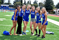 LAHS vs. Paly, March 2018 meet